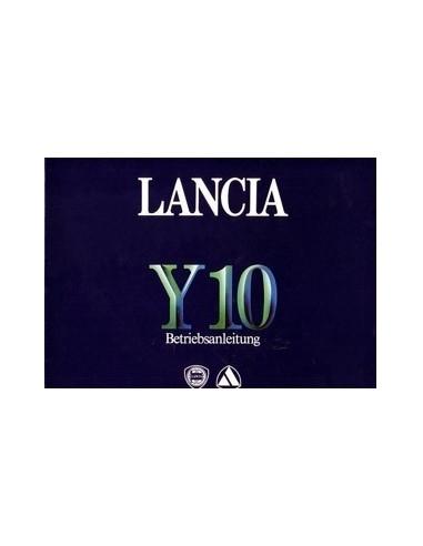 1986 LANCIA Y10 INSTRUCTIEBOEKJE DUITS