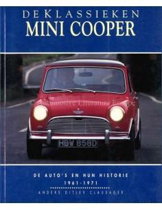MINI COOPER - DE AUTO'S EN HUN HISTORIE - 1961-1971 - ANDERS DITLEV CLAUSAGER - BOOK