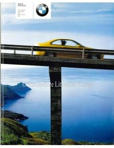 2001 BMW M PROGRAMM PROSPEKT DEUTSCH