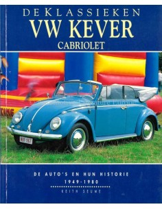 VOLKSWAGEN KEVER - CABRIOLET - 1949-1980 - KEITH SEUME - 1996 - BUCH