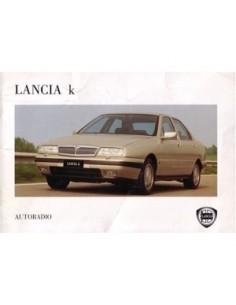 1995 LANCIA KAPPA RADIO BETRIEBSANLEITUNG DEUTSCH
