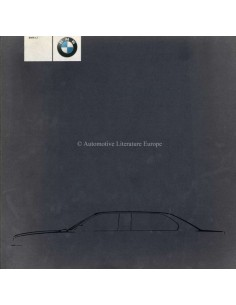 2000 BMW L7 BROCHURE ENGLISH