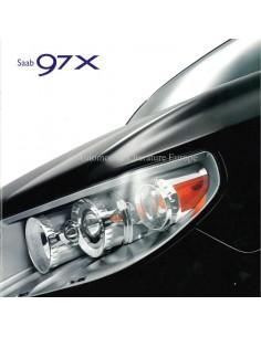 2006 SAAB 9-7X PROSPEKT NIEDERLÄNDISCH