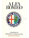 ALFA ROMEO - PETER HULL & ROY SLATER - 1969 - BOOK