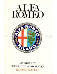 ALFA ROMEO - PETER HULL & ROY SLATER - 1969 - BUCH