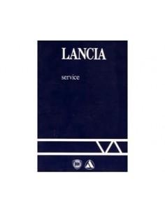 1986 LANCIA SERVICE INSTRUCTIEBOEKJE
