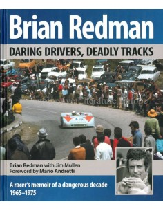 DARING DRIVER, DEADLY TRACKS - BRIAN REDMAN - 2016 - BOOK