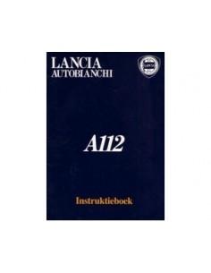 1976 AUTOBIANCHI A112 BETRIEBSANLEITUNG NIEDERLANDISCH MAPPE