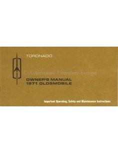 1971 OLDSMOBILE TORONADO BETRIEBSANLEITUNG ENGLISCH