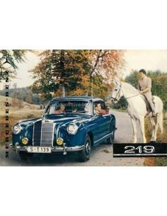 1962 MERCEDES BENZ 219 BROCHURE GERMAN