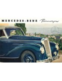 1952 MERCEDES BENZ PERSONENWAGENS BROCHURE GERMAN