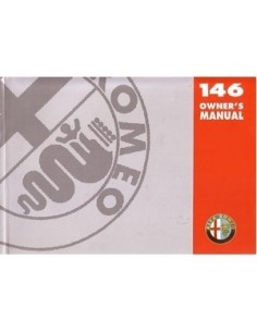 1997 ALFA ROMEO 146 OWNERS MANUAL HANDBOOK ENGLISH