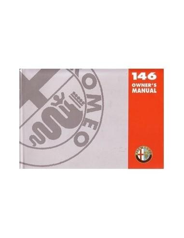 1997 ALFA ROMEO 146 INSTRUCTIEBOEKJE ENGELS