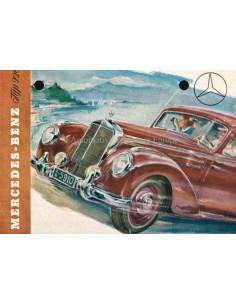 1953 MERCEDES BENZ 220 BROCHURE GERMAN