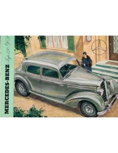 1953 MERCEDES BENZ 170DS BROCHURE DUITS
