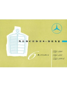 1957 MERCEDES BENZ BROCHURE GERMAN
