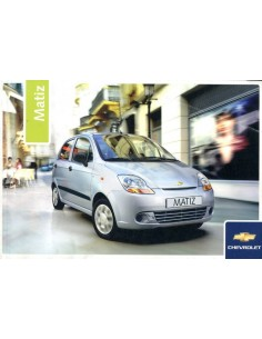 2006 CHEVROLET MATIZ INSTRUCTIEBOEKJE NEDERLANDS