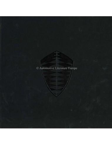 2008 KOENIGSEGG CCX CCXR EDITION BROCHURE ENGELS 'SCHAARS'