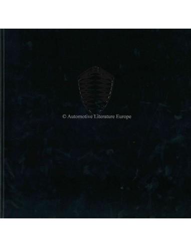 2006 KOENIGSEGG CCX BROCHURE ENGELS 'SCHAARS'