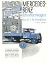1930 MERCEDES BENZ L 2500 BROCHURE DUITS