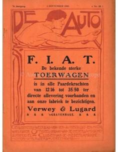 1910 DE AUTO MAGAZIN 35 NIEDERLÄNDISCH