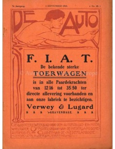 1910 DE AUTO MAGAZINE 35 DUTCH
