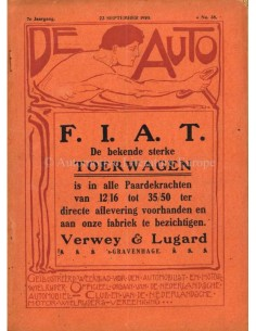 1910 DE AUTO MAGAZINE 38 DUTCH