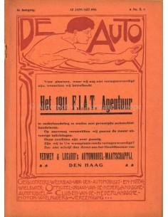 1911 DE AUTO MAGAZIN 2 NIEDERLÄNDISCH