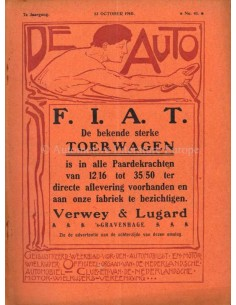 1910 DE AUTO MAGAZINE 41 DUTCH