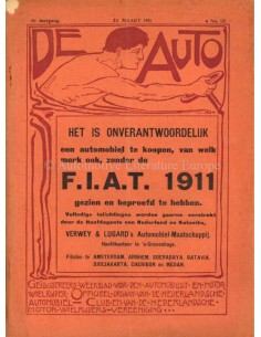 1911 DE AUTO MAGAZINE 12 NEDERLANDS