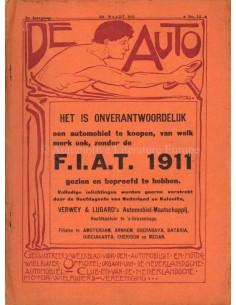 1911 DE AUTO MAGAZIN 13 NIEDERLÄNDISCH