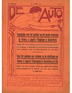 1911 DE AUTO MAGAZIN 16 NIEDERLÄNDISCH