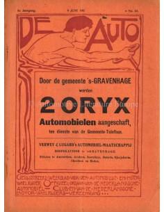 1911 DE AUTO MAGAZIN 23 NIEDERLÄNDISCH