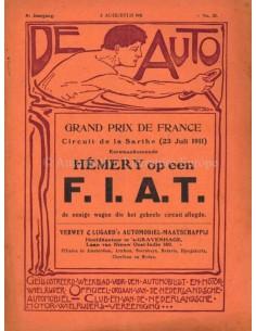 1911 DE AUTO MAGAZIN 31 NIEDERLÄNDISCH