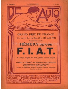 1911 DE AUTO MAGAZINE 31 DUTCH