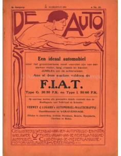 1911 DE AUTO MAGAZIN 35 NIEDERLÄNDISCH