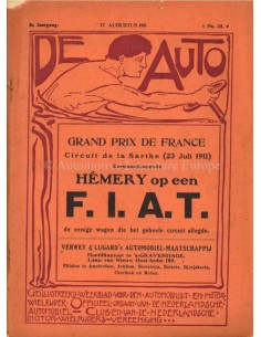 1911 DE AUTO MAGAZINE 33 DUTCH