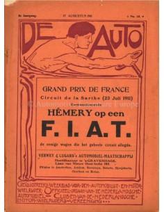 1911 DE AUTO MAGAZINE 33 NEDERLANDS