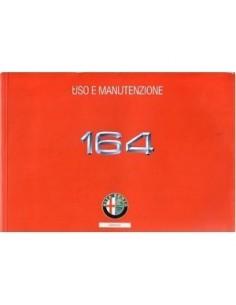 1996 ALFA ROMEO 164 OWNERS MANUAL ITALIAN