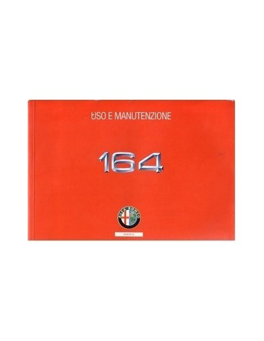 1996 ALFA ROMEO 164 INSTRUCTIEBOEKJE ITALIAANS
