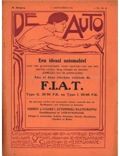 1911 DE AUTO MAGAZIN 36 NIEDERLÄNDISCH