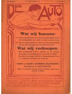 1911 DE AUTO MAGAZIN 38 NIEDERLÄNDISCH
