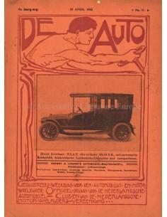 1912 DE AUTO MAGAZIN 17 NIEDERLÄNDISCH