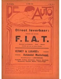 1912 DE AUTO MAGAZIN 21 NIEDERLÄNDISCH