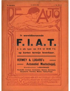 1912 DE AUTO MAGAZINE 24 DUTCH