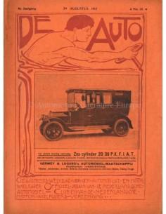 1912 DE AUTO MAGAZIN 35 NIEDERLÄNDISCH