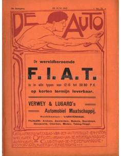 1912 DE AUTO MAGAZINE 25 DUTCH