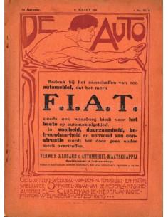 1911 DE AUTO MAGAZIN 10 NIEDERLÄNDISCH