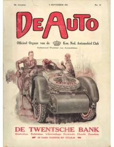1921 DE AUTO MAGAZINE 36 DUTCH