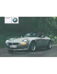 2002 BMW Z8 BETRIEBSANLEITUNG DEUTSCH